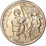 США 1 доллар, 2020 год. Американские Инновации - Южная Каролина. Септима Кларк.