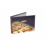 Альбом для Монет с Листами Горизонтальный(10 листов в комплекте)