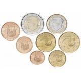 Испания набор монет евро (8 штук)