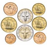 Кипр набор монет евро (8 штук)