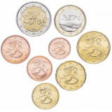 Финляндия набор монет евро (8 штук)