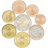 Австрия годовой набор евро  (8 монет)