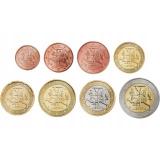 Литва набор монет евро  (8 штук)