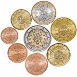 Португалия набор монет евро  (8 штук)