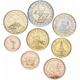 Словения набор монет евро (8 штук)
