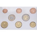 Монако набор евро (8 монет)