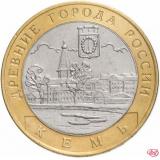 """10 рублей 2004 СПМД """"Кемь (древние города России, ДГР)"""""""