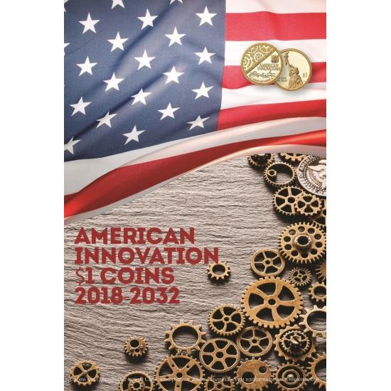 Капсульный альбом для монет серии «Изобретения Америки» - 1