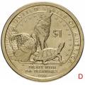 1 доллар США Сакагавея