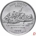 25 центов Штаты и Округи США