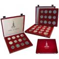 Серебряные монеты в наборах