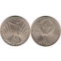 1 рубль СССР Юбилейка