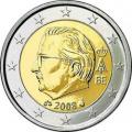 Монеты евро Бельгия