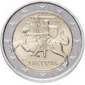 Монеты евро Литва