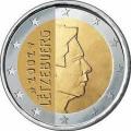 Монеты евро Люксембург