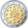 Монеты евро Португалия