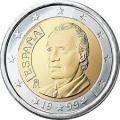 Монеты евро Испания
