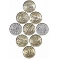 Монеты 2 рубля Города Герои