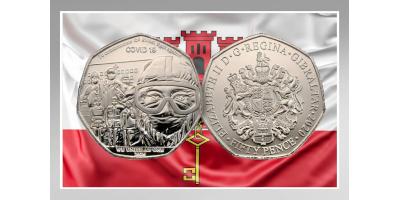 НОВАЯ МОНЕТА Гибралтар 2021 год