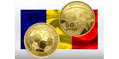 НОВАЯ МОНЕТА РУМЫНИИ к Чемпионату Европы по футболу 2020 года