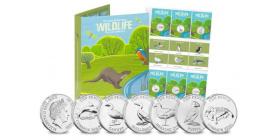 The Westminster Collection выпустили второй выпуск монет 10 пенсов дикой природы Великих Британских островов