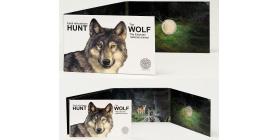 Монета Эстония Волк